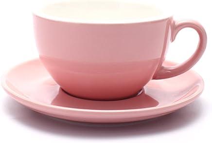 b2ff17b5250 Coffeezone Americano Coffee Cup and Saucer Latte Art Cappuccino Barista Cups
