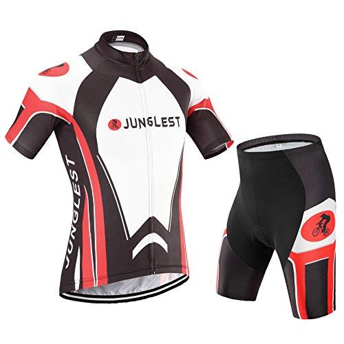 2018DM (Traje tamaño:M) para Hombres Corta Ciclismo Transpirable sudo Moda Jerseys Ropa...