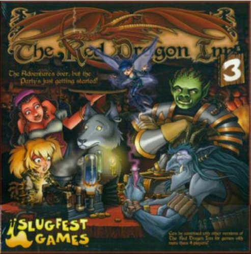 Slugfest Games The Red Dragon Inn 3 Strategy Boxed Board Game Ages 13 & Up (SFG009)