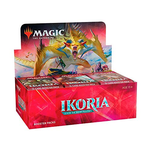 Magic The Gathering - Ikoria: Lair of The Behemoth - Boosters / Displays Auswahl | English | Sammelkartenspiel TCG |Set inkl. Kartenspiel, Booster:36er (Display)
