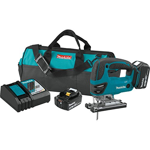 Makita XVJ03 18V LXT Lithium-Ion Cordless Jig Saw Kit (3.0Ah)