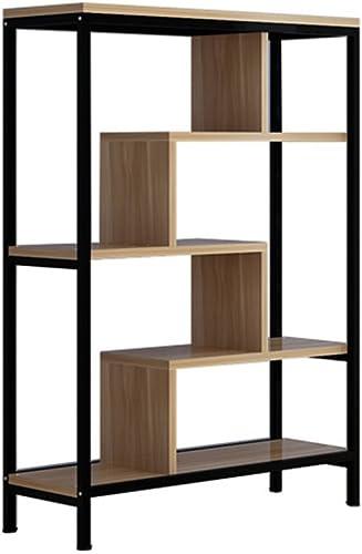 Bücherregal CHUANLAN Modernes h ernes Schnitt Speicher-Regal-Wohnzimmer-Schlafzimmer-Studien-Ausstellungsstand-Bücherschrank