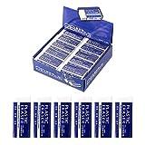 Liwein 30 Stück Radiergummi Weiß Weiche Kunststoff-Radierer für Bleistifte Schulen Skizzen Gemälden Bildenden Künsten Radierer