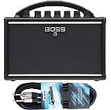 Boss Katana - Amplificador para guitarra mini (incluye cable Keepdrum de 3 m)