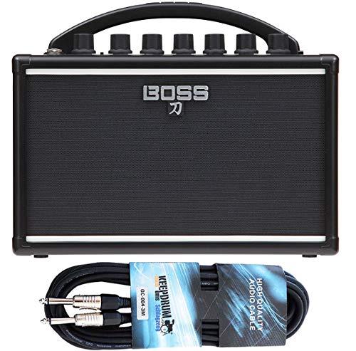 Boss Katana - Amplificador para guitarra y cable keepdrum (3 m)