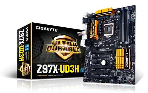 Gigabyte GA-Z97X-UD3H 1150 Mainboard Sockel (Intel Z97, 4x DDR3 Speicher)