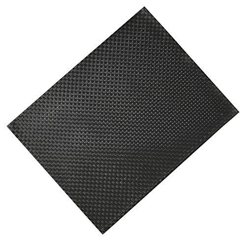 Silicone Gold Nappe individuelle, Noir, 45 x 30 x 1 cm
