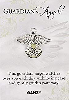 """Ganz Pin - Guardian Angel """"This guardian angel watches over you each day with loving care and gently guides your way."""""""