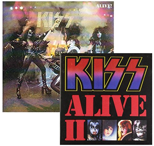 Alive I and Alive II - Kiss - 2 CD Album Bundling