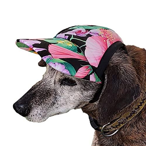 K-9 Kool Hats Cooling Dog Hats Sun Visor/Baseball Cap/Dog Sport Hat with Cooling Capabilities and Adjustable Chin Strap
