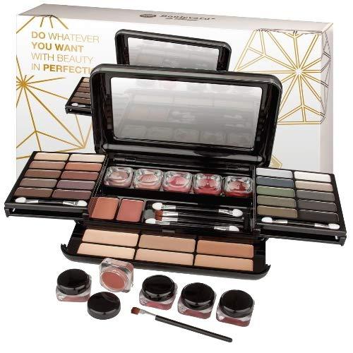 Kosmetik Make-up Lidschatten Schminkkassette 39 teilige edle Box (e32)