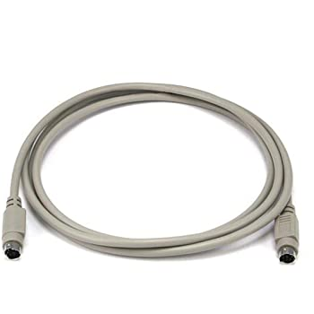Monoprice 6-Feet PS/2 MDIN-6 Male to Male Cable (100092)