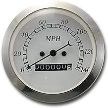 MOTOR METER RACING Classic Instruments Mechanical Speedometer Gauge Indicator Analog Odometer 3-3/8
