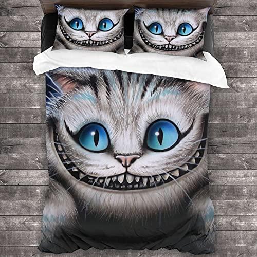 Alice in Wonderland Bettwäsche-Set mit...