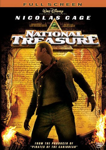 National Treasure (Full Screen Edition) by Nicolas Cage