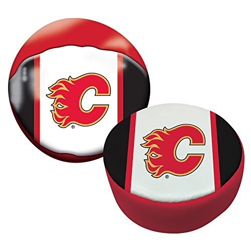 Franklin Sports NHL Calgary Flames Soft Sport Ball & Puck Set