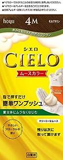 ホーユー シエロ ムースカラー 4M (モカブラウン)×6個