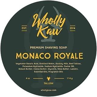 Wholly Kaw Donkey Milk Shaving Soap, Monaco Royale