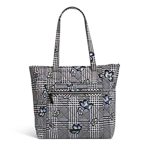 Vera Bradley womens Performance Twill Vera Tote Handbag, Bedford Plaid, One Size US