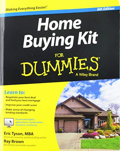 Real Estate Investing Books! - Home Buying Kit FD 6E (For Dummies)