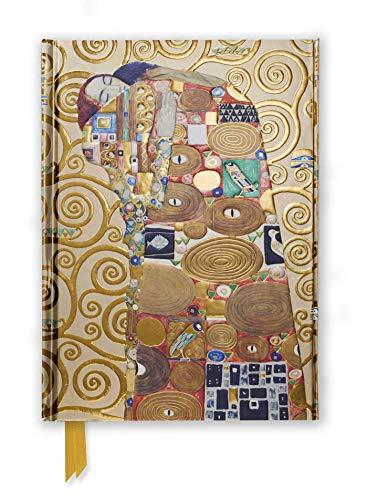 Premium Notizbuch DIN A5: Gustav Klimt, Die Erfüllung: Unser hochwertiges, liniertes Blankbook mit festem, künstlerisch geprägtem Einband und ... DIN A 5 mit Magnetverschluss, Band 51)