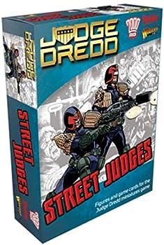 WarLord Judge Dredd Street Judges Figures for The Judge Dredd Miniatures Table Top War Game 652210107 Unpainted