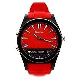 Martian Watches Notifier Smartwatch - Red