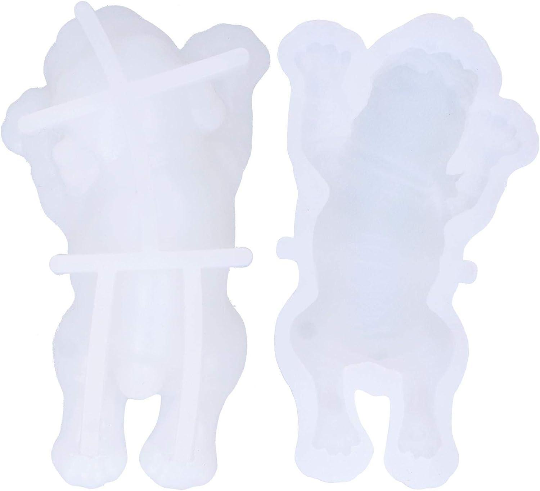 Fondant Mould Baking Multi-Purpose D 5 ☆ popular Reusable trust White Cute