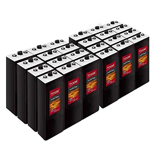 Batería Solar EnergyCell MPzS 2V 1431Ah C-100/24 Vasos | 30% + Baratas que OPzS/Aplicaciones Solares o Tracción
