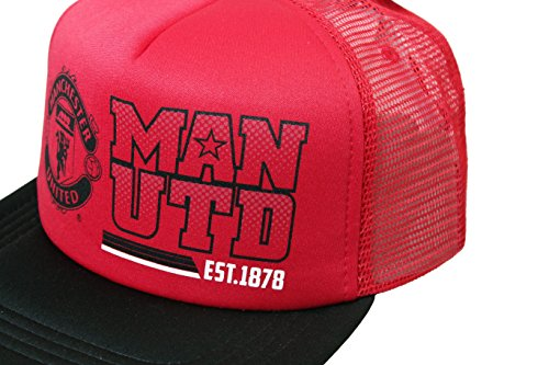 Manchester United Official License Soccer Cap with Curved Bill