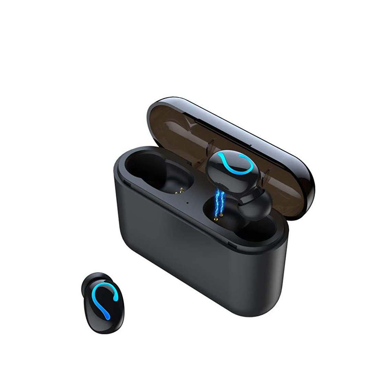 BIYATE Wireless Earbuds Bluetooth Headphones iPX7 Sweatproof,Bluetooth 5.0 Auto Pairing Wireless Earphones for Iphone/Samsung/Bluetooth Headset with 2600mAh Charging Case