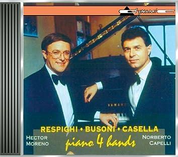 Respighi: Suite Della Tabacchiera / Fontane Di Roma / 6 Pezzi Per Bambini / Busoni: Finnlandische Volksweisen / Casella: Pagine Di Guerra