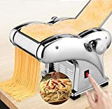 Pasta Maker, 110V Electric Noodle Press Machine Spaghetti Pasta Maker Commercial Stainless Steel...