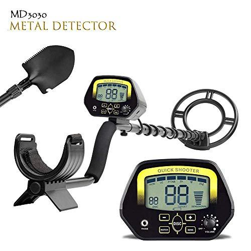 classement un comparer Détecteur de métaux pour adultes Détecteur optique professionnel LCD MD3030 Treasure Hunter…
