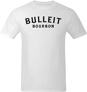 Nehasigo Men`s Black Bulleit Bourbon Design T-Shirt