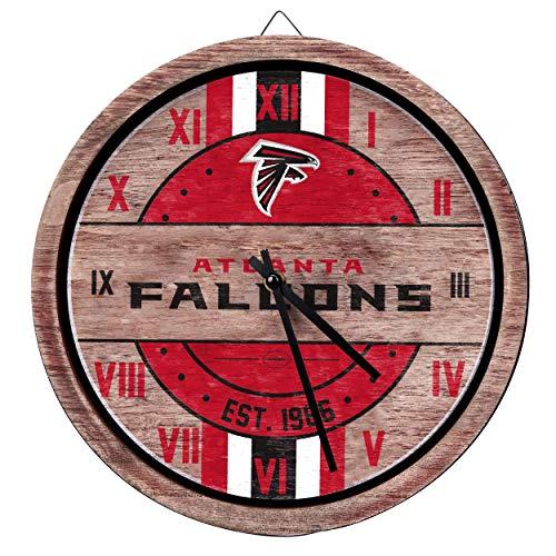 FOCO Atlanta Falcons NFL Barrel Wall Clock