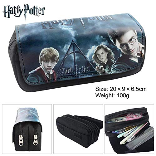 Let it be love Harry Potter Estuche Escolar con Dos Compartimentos: Amazon.es: Juguetes y juegos