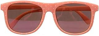 KDXBCAYKI - KDXBCAYKI Gafas de sol blandas lindas de la niña linda Protección del medio ambiente UV Color naranja Marco irrompible para niños Monturas seguras Meterial PC Lentes de sol para niñas Gafas de sol inf