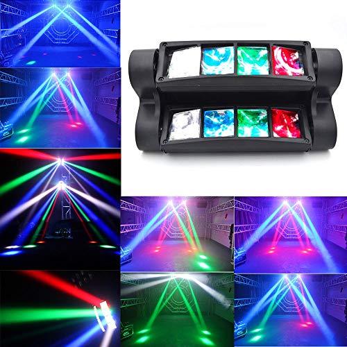 MorNon 90W LED Spider Moving Head Bühnenlicht Beam DMX512 Bühnenbeleuchtung für Bar Weihnachten Halloween Party