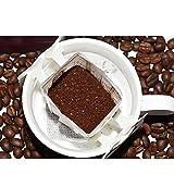 ZZUUS Handgemachter Kaffee mit hängendem Ohr Yunnan Pu'er Boutique für Kaffeepulver mit kleinen...