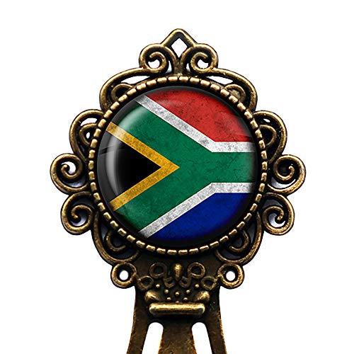 South Africa South African Flag Südafrika Südafrikanische Flagge Lesezeichen
