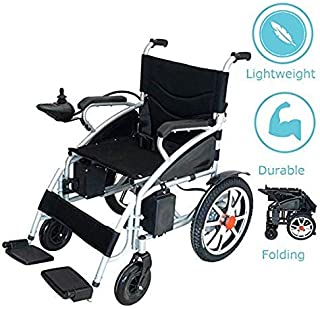 2019 New Comfy Go Lightweight Foldable Lead Acid Battery Electric Power Wheelchair