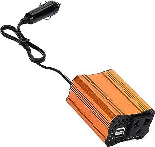 Automotive Power Inverter 12V tot 110V 220V AC Converter met Dual USB Car Charger Adapter Orange