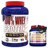 100% Whey Proteína en Polvo + CREATINA 300gr GRATIS-REGELO, Suplementos deportivos, Ameri...