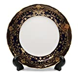 Royalty Porcelain Set of 6 Dessert Plates, Vintage...