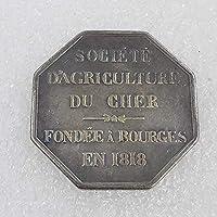 コインコレクション記念コインクラフト1818年フランスのコイン記念コイン父/友人のコイン愛好家へのギフト