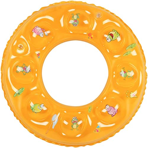 Schwimmen Ring Gelb mädchen Cartoon Pers ichkeit Hübscher Strand Meer Ferien Aufblasbare Schwimmring Erwachsene HUYP (Größe   90)