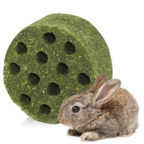 JMZYQ Juguetes para Masticar Conejos Timothy Grass Palillos Molares, Natural Hierba Alfalfa Heno Tortas para la mayoría los Animales pequeños (Grande)