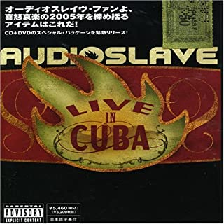 Live in Cuba by Audioslave