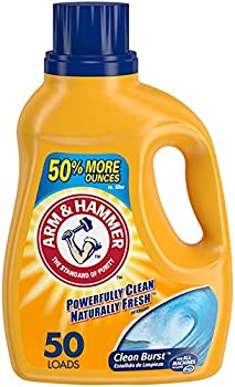 Arm & Hammer 50 Loads Liquid Laundry Detergent, 75 Fl oz